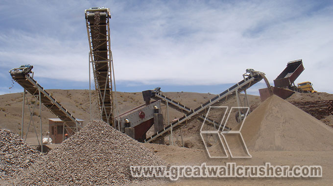 Cone crusher and jaw crusher for Iron Ore crushing plant
