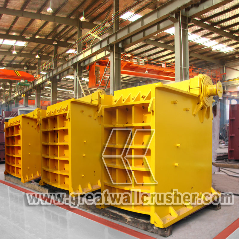 Large jaw crusher for river stone crushing plant