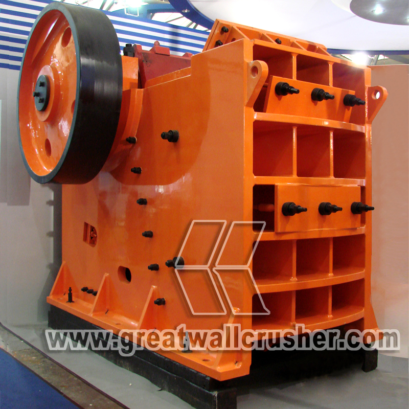 PE 500 x 750 jaw crusher