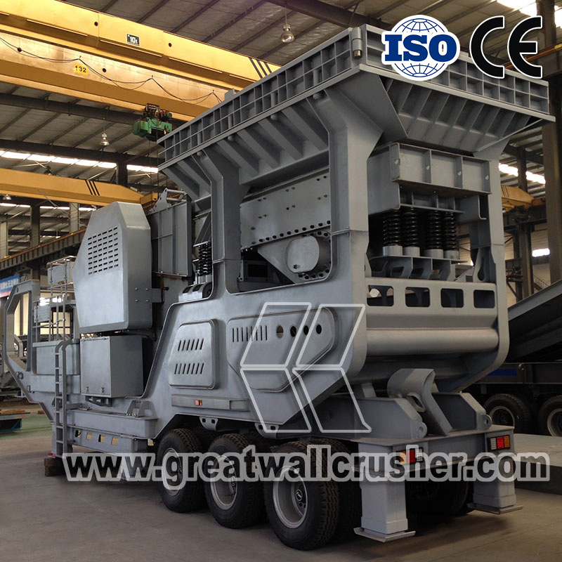 Great Wall Mobile Crushing Plant