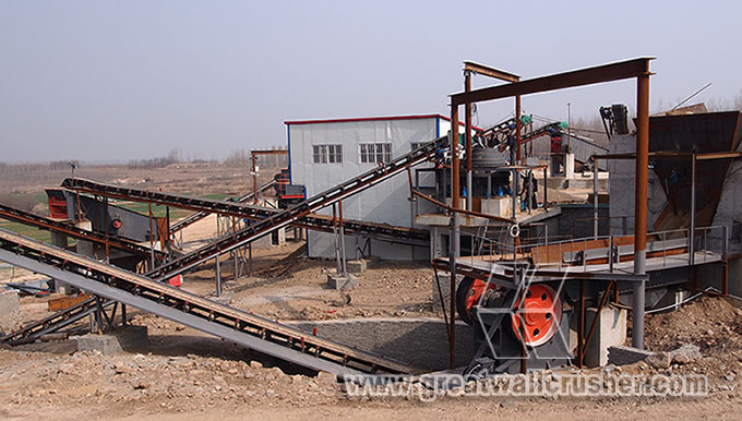 Cone crusher for granite crushing plant