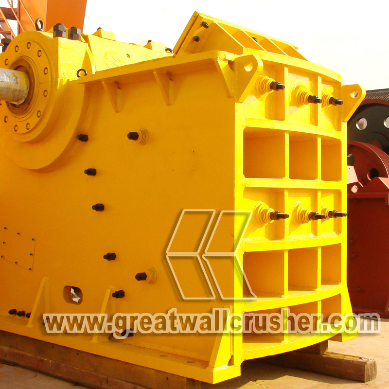 PE 750 *1060 jaw crusher in limestone crushing plant
