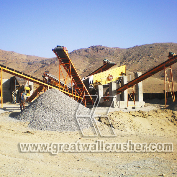 Cone Crusher in crushing plant