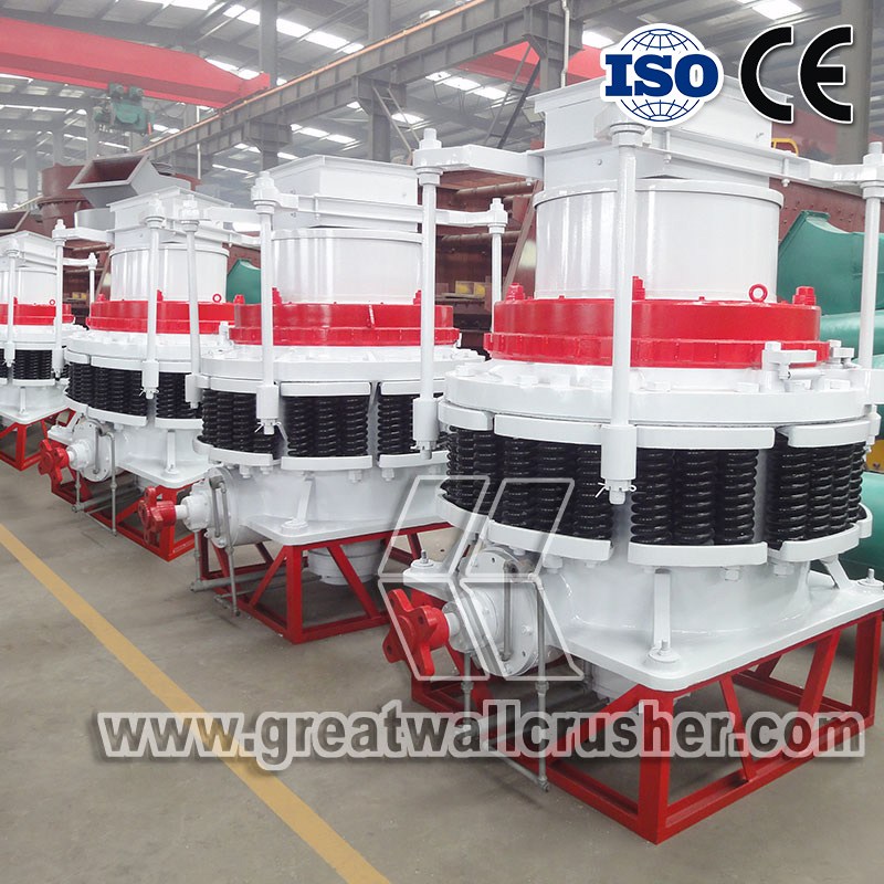 Cone crusher for sale in crushing plant