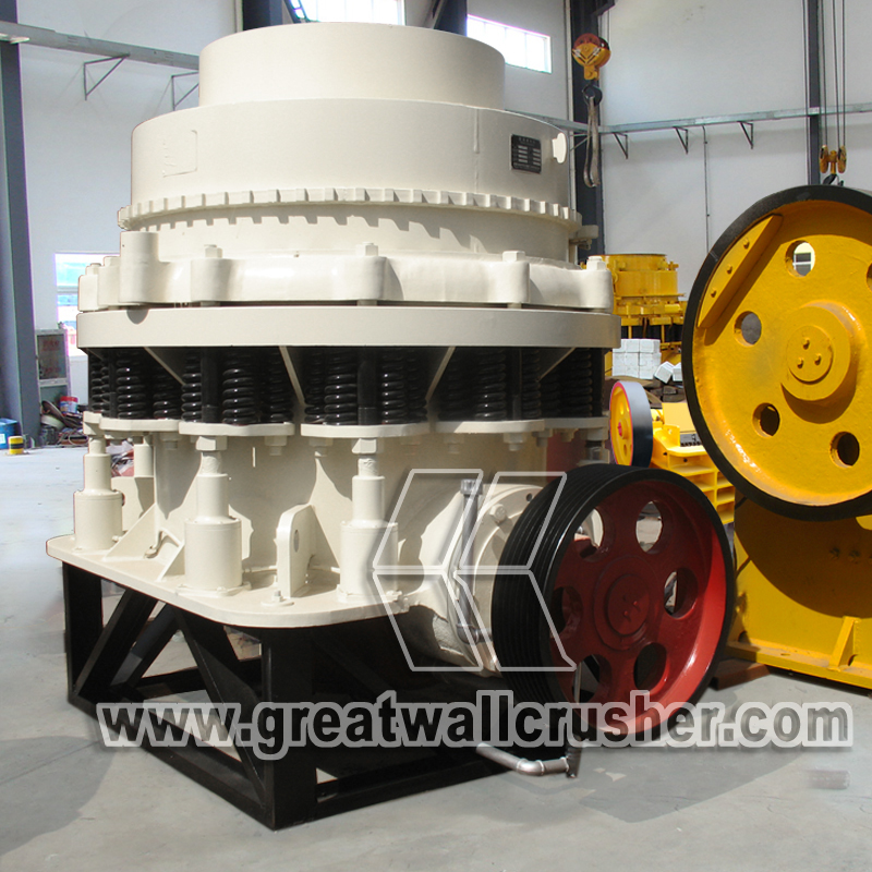 cone crusher for sale in iron ore crushing plant