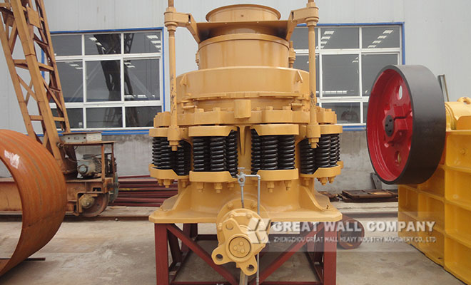 cone crusher for iron ore crushing plant