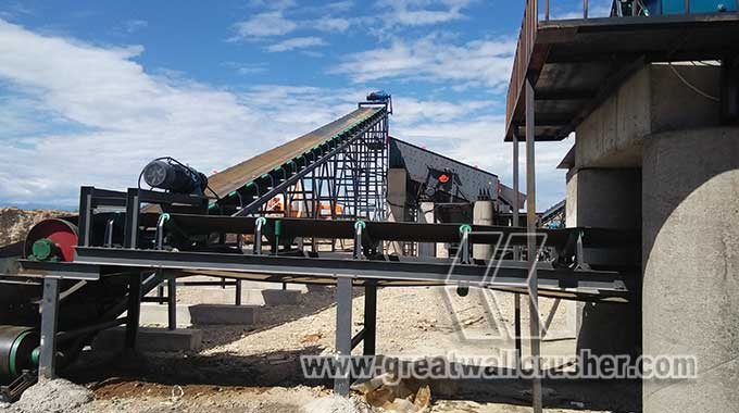 cone crusher and jaw crusher for sale in whole crushing plant