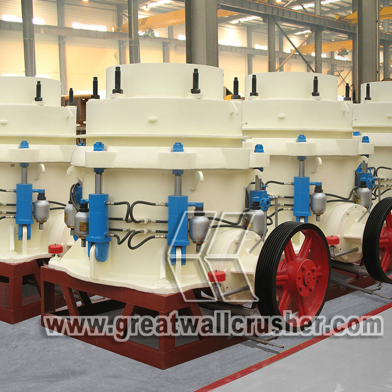 Cone crusher for the 120th Canton Fair 2016