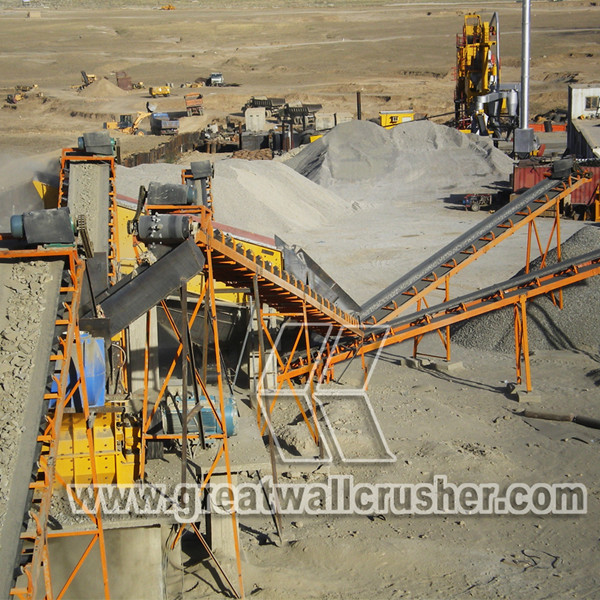cone crusher and jaw crusher for Nigerian road construction