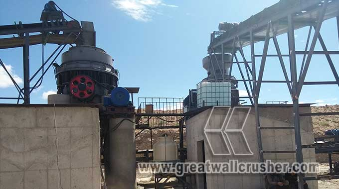 cone crusher and jaw crusher for sale in 200 tph crushing plant