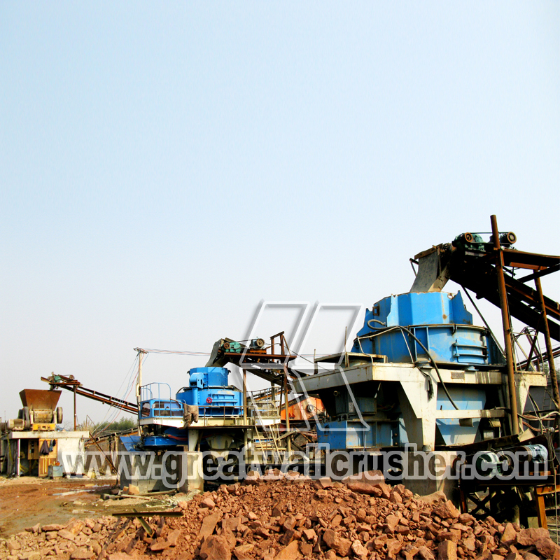 sand  making machine and stone crusher for sale