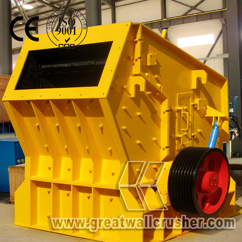 PF1007 impact crusher for sale in limestone crushing plant