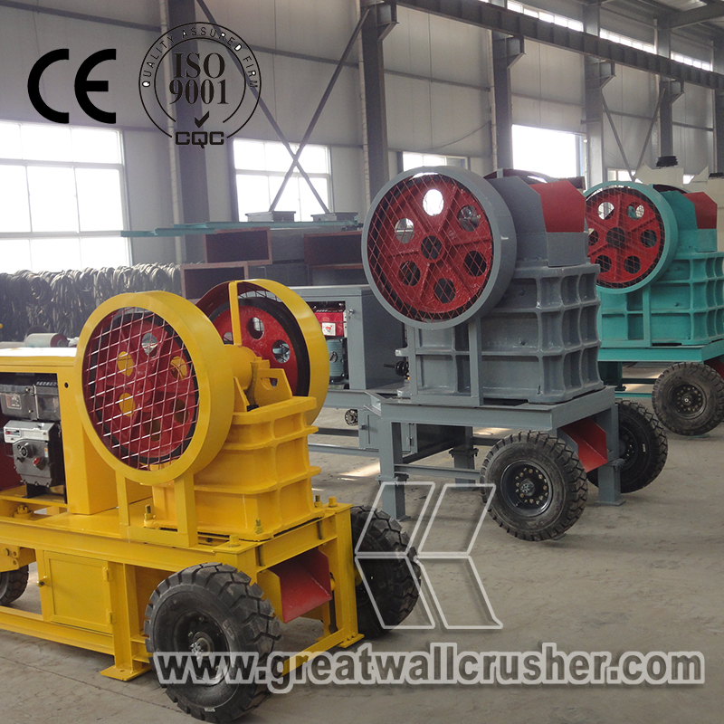 diesel engine crusher for sale