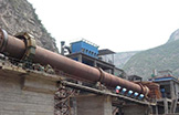 Work site of rotary kiln and dryer